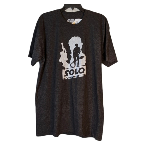 Star Wars Solo graphic tee NWT